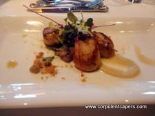 Caramelised Scallop