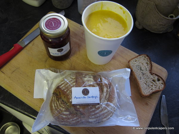 SoupBreadJam The One Mile Bakery, Bread Soup and Jam