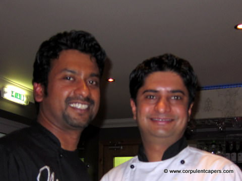 Executive Chef Pramod Nair & Head Chef Siddartha