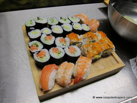 finally Sushi Masterclass   Red Hot World Buffet Cardiff