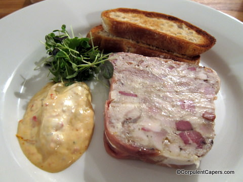 Chicken & Pancetta Terrine