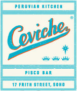 ceviche logo mobile 001 Ceviche, London. Peruvian Kitchen & Pisco Bar