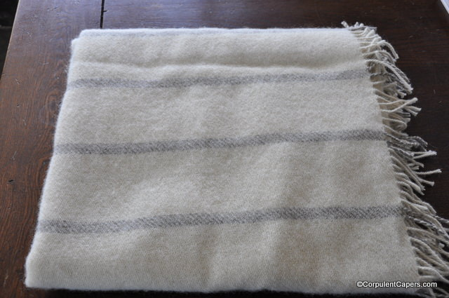 Blanket Made From Cotswold Sheeps Wool