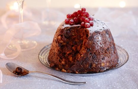 Classic Christmas pudding Embedded 465x300 Dan Lepards Classic Christmas Pudding Recipe