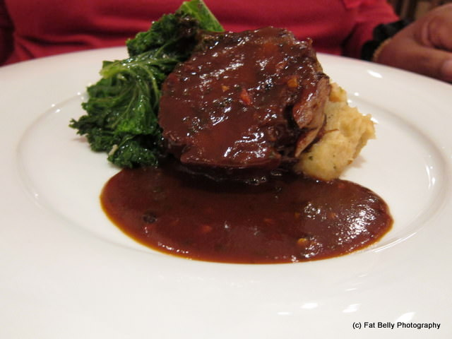 Picture of Slow Roasted Lamb with Celeriac Mash