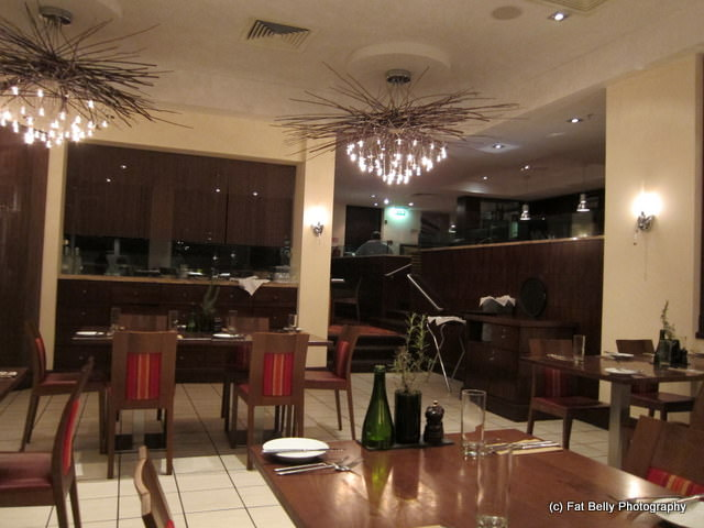 Picture of inside of Zest Restaurant