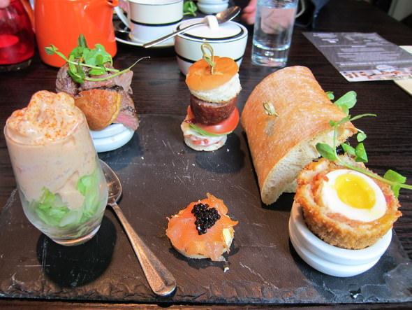 Gentlemen's Afternoon Tea - Savoury Dishes