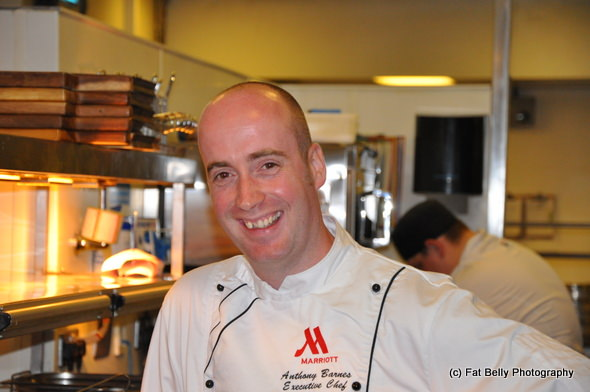 Corpulent Capers: Cardiff Marriott Executive Chef Anthony Barnes