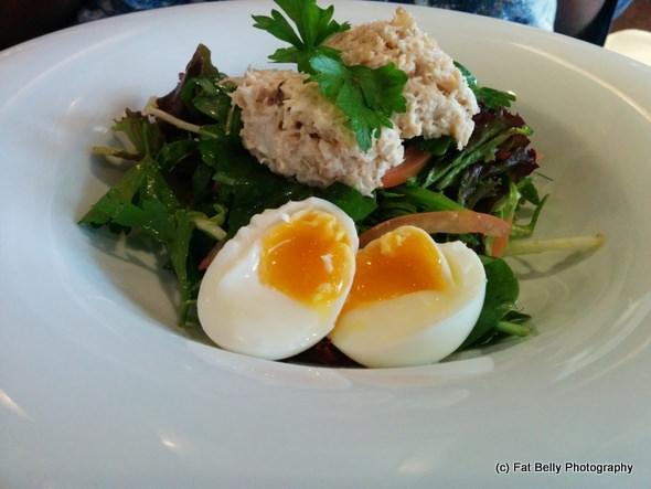 Corpulent Capers: Smoked Mackerel Salad at Zest