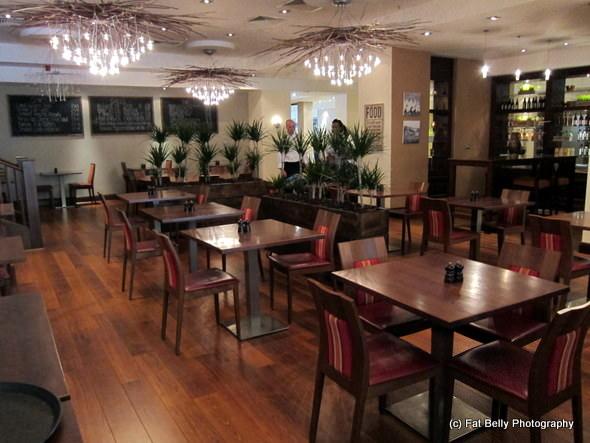 Corpulent Capers: Inside Zest Restaurant